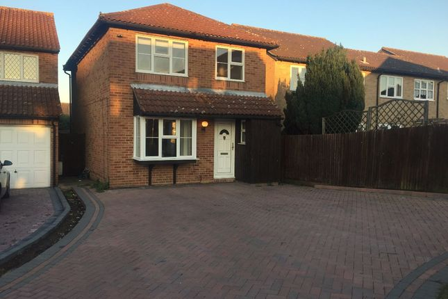 Thumbnail Detached house to rent in Haredale Close, Rochester