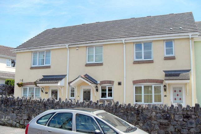 Thumbnail Terraced house to rent in Knights Mead, Chudleigh Knighton, Chudleigh, Newton Abbot