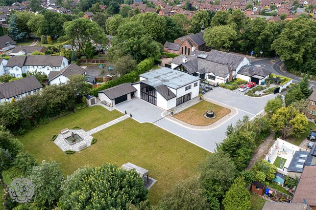 Thumbnail Detached house for sale in Ellenbrook Road, Worsley, Manchester