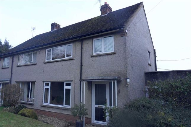 Thumbnail Semi-detached house for sale in Ty Freeman Houses, Gwehelog, Nr Usk, Monmouthshire