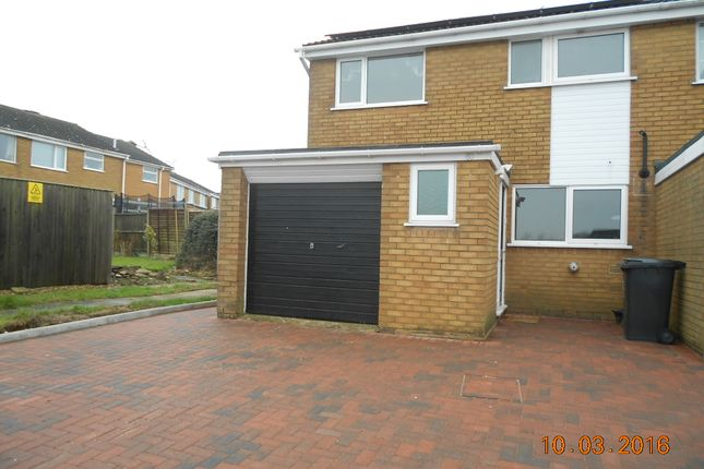 Thumbnail Semi-detached house to rent in Welland Way, Oakham