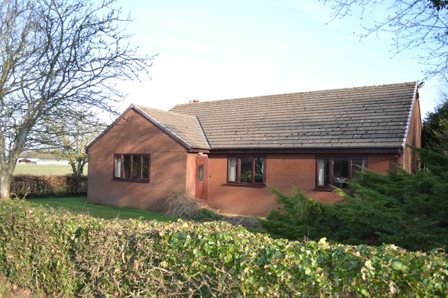 Thumbnail Detached bungalow for sale in Hall Lane, Lathom
