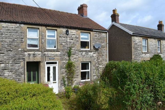 Thumbnail End terrace house for sale in Wells Road, Chilcompton, Radstock