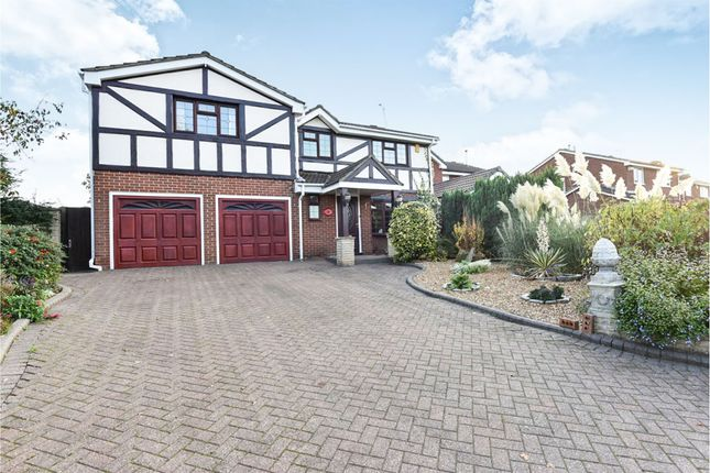 Thumbnail Detached house for sale in Heron Way, Mickleover, Derby