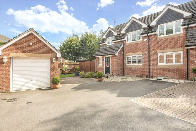 Thumbnail Semi-detached house for sale in Rosslyn Mews, Rosslyn Close, North Baddesley, Southampton