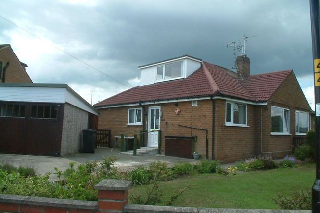 Thumbnail Bungalow to rent in Woodfield Road, Harrogate