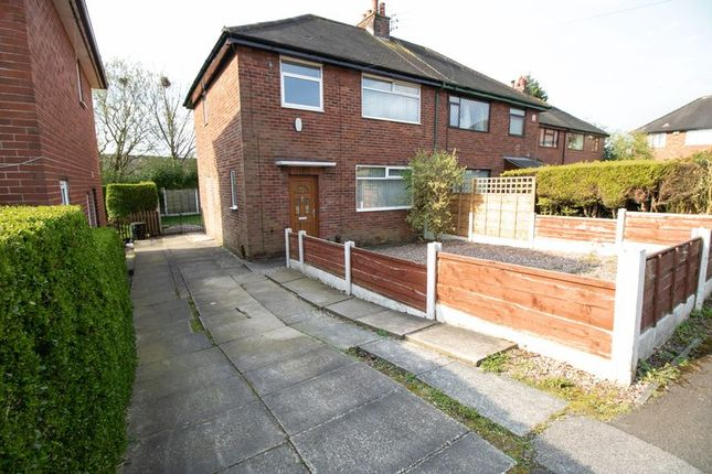 Semi-detached house to rent in Eskdale Grove, Farnworth, Bolton