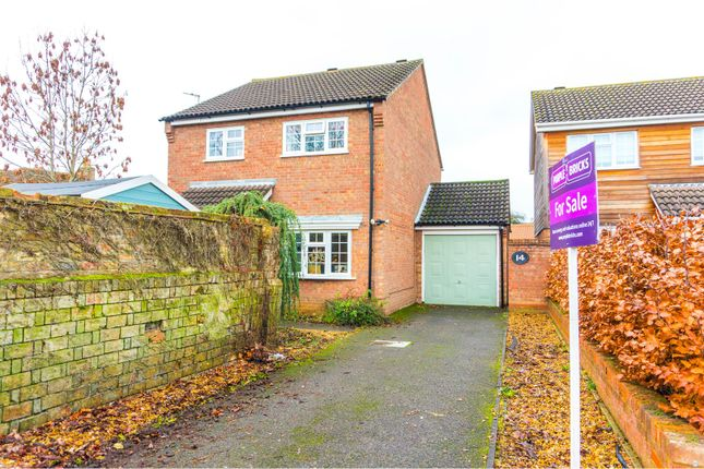 Thumbnail Detached house for sale in Wildber Close, Eynesbury, St. Neots