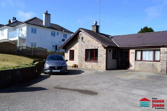 Thumbnail Semi-detached bungalow for sale in Llanbedrog, Pwllheli