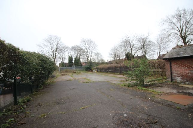 Thumbnail Land for sale in Brinnington Road, Stockport