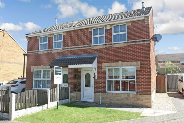 3 bed semi-detached house for sale in Harriers Court, South Elmsall, Pontefract