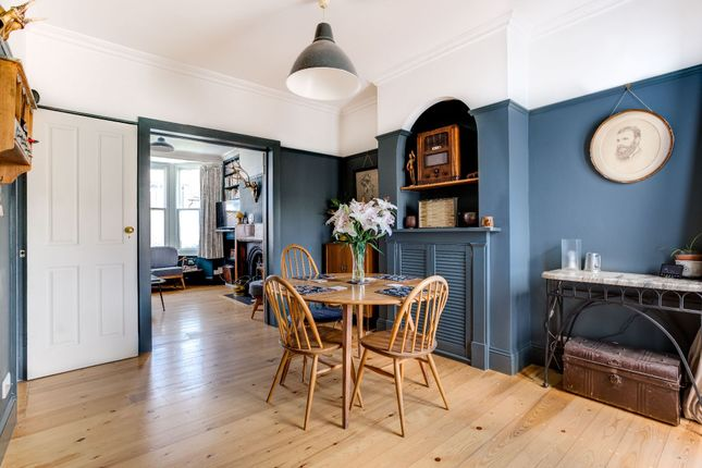 Thumbnail Terraced house for sale in Princes Road, Roundhill Conservation Area, Brighton