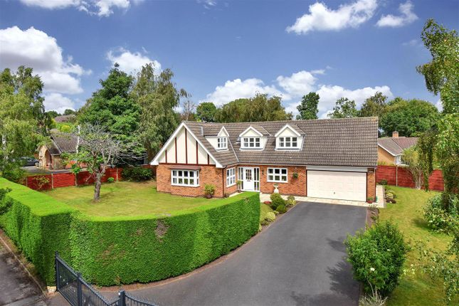 Thumbnail Detached bungalow for sale in Heather Lane, Ravenshead, Nottingham