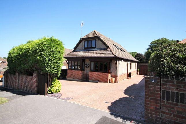 Thumbnail Detached bungalow for sale in Woodville Road, Bedhampton, Havant