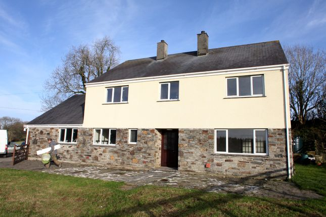 Thumbnail Detached house to rent in Dunterton, Tavistock