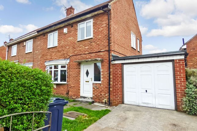 Thumbnail Semi-detached house for sale in Thorne Square, Sunderland