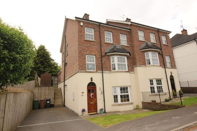 Thumbnail Semi-detached house for sale in Cambric Court, Dromore