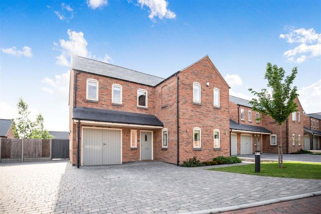 Thumbnail Detached house for sale in 'the Laurels', Orchard Lea Close, Sapcote, Leicester