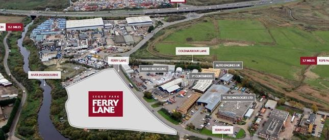 Thumbnail Light industrial for sale in Ferry Lane, Ferry Lane, Rainham, Essex RM139Db