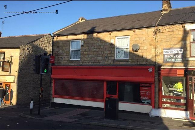 Thumbnail Retail premises to let in 103-105 Durham Road, Blackhill, County Durham