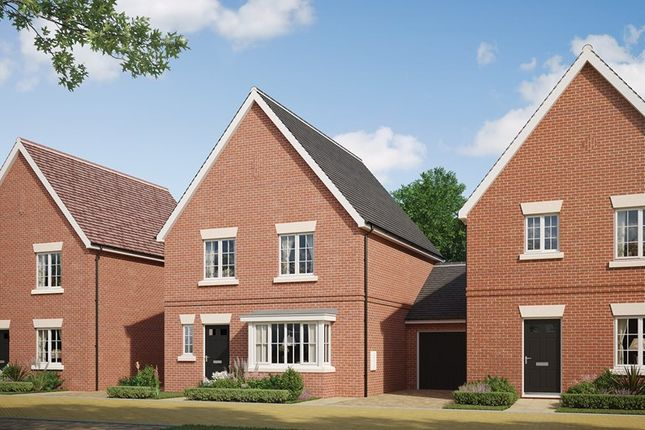 Thumbnail Link-detached house for sale in Colchester Road, Halstead Essex