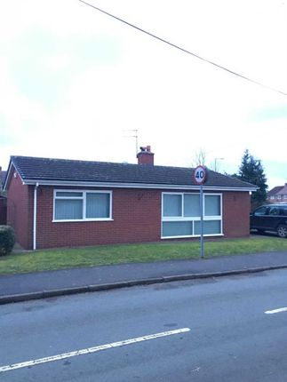 Thumbnail Bungalow for sale in Mytton Road, Shawbury, Shrewsbury