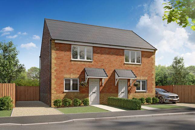"2 bedroom semi-detached house for sale in ""Boston"" at Grange Road, Widdrington, Morpeth"