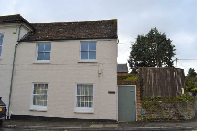 Thumbnail Semi-detached house to rent in Station Road, Kintbury, Hungerford