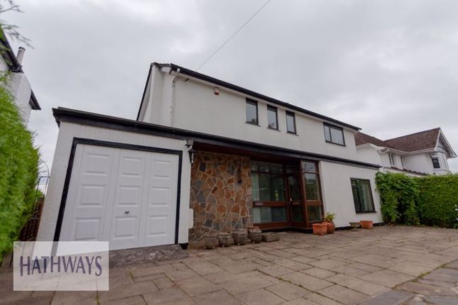 Thumbnail Detached house for sale in Caerleon Road, Llanfrechfa, Cwmbran