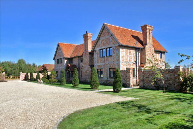 Thumbnail Equestrian property for sale in Winkfield Lane, Winkfield, Windsor, Berkshire