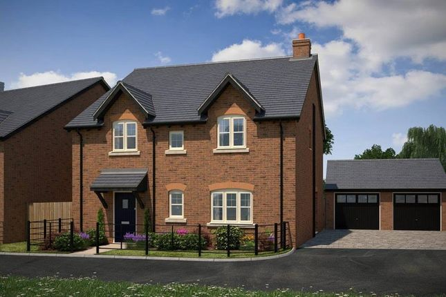 "Thumbnail Detached house for sale in ""The Hadleigh"" at Marrow Close, Rugby"