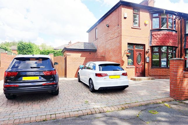 Thumbnail Semi-detached house for sale in Park Avenue, Manchester