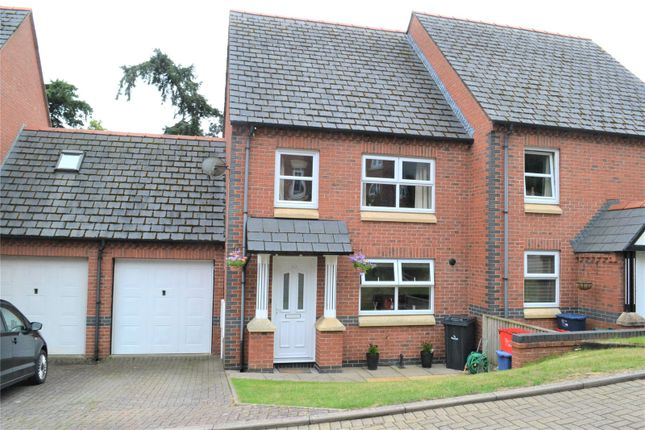 Thumbnail Semi-detached house for sale in Hendidley Way, Milford Road, Newtown, Powys