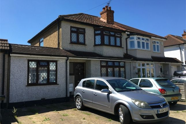 Thumbnail Semi-detached house for sale in Limecroft Close, West Ewell, Epsom