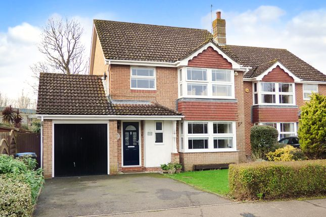 Thumbnail Detached house for sale in Finches Close, Wick, Littlehampton