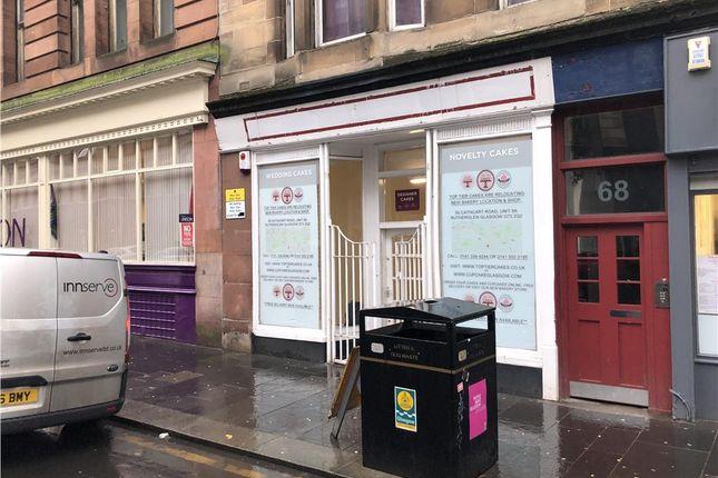 Thumbnail Retail premises to let in 70 Bell Street, Glasgow, City Of Glasgow