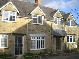 Thumbnail Terraced house to rent in Milton - U - Wycwood, Oxfordshire