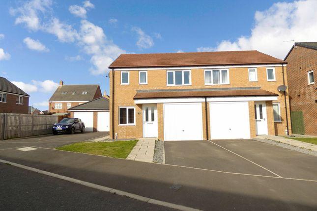 3 bed semi-detached house to rent in Swinley Crescent, Ashington NE63