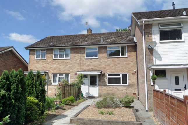 Thumbnail Terraced house to rent in Whyke Close, Chichester
