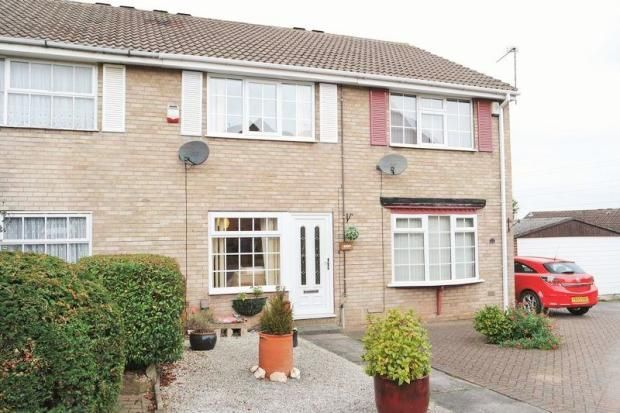 Thumbnail Town house to rent in Hollycourt, Forest Town, Mansfield