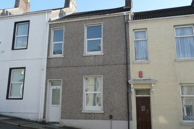 Thumbnail Terraced house to rent in Riga Terrace, Plymouth