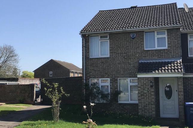 Thumbnail End terrace house to rent in Barn Close, Kidlington