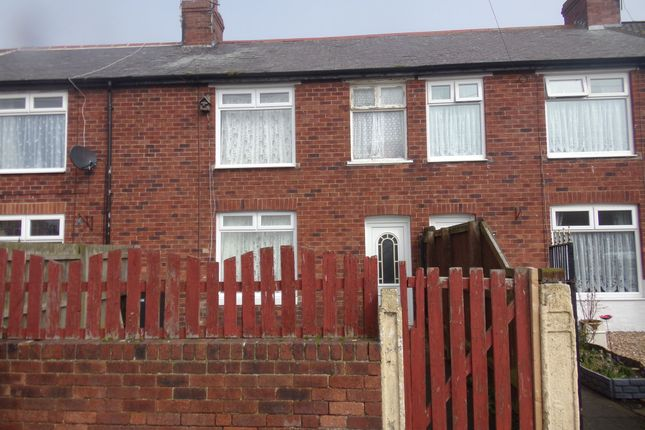 Thumbnail Terraced house for sale in Woodhorn Crescent, Newbiggin-By-The-Sea