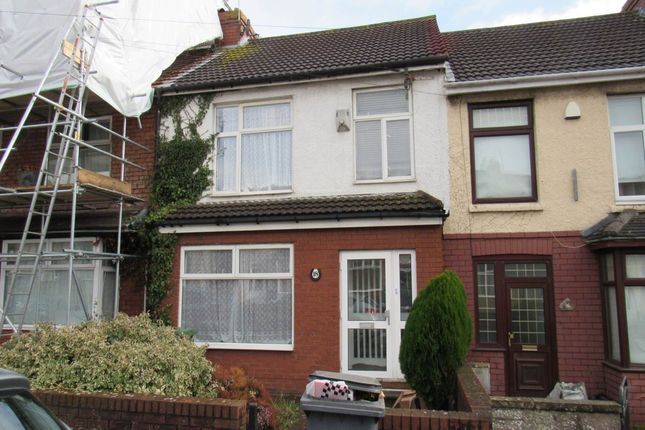 Thumbnail Terraced house to rent in Third Avenue, Northville, Bristol