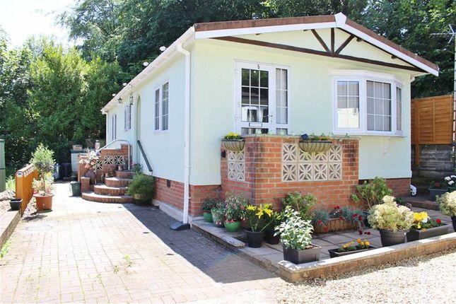 Thumbnail Mobile/park home for sale in Mill Gardens, Blackpill, Swansea