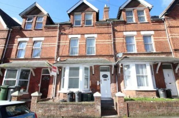 Thumbnail Flat to rent in Pennsylvania Road, Exeter