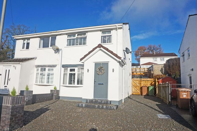 Thumbnail Semi-detached house for sale in Penybont, Penpedairheol, Hengoed