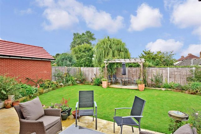 Rear Garden of Poppy Way, Havant, Hampshire PO9