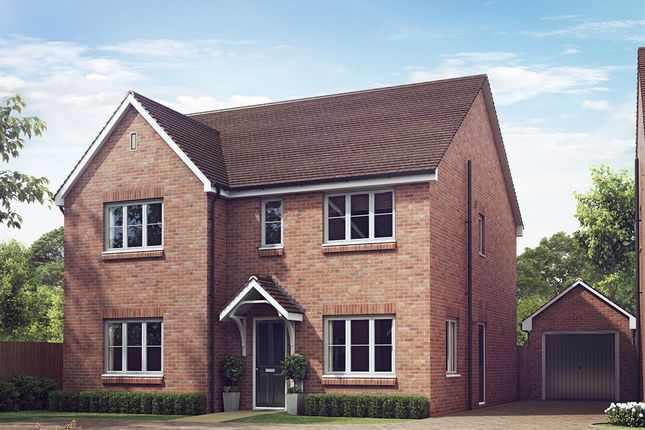 "Thumbnail Detached house for sale in ""The Marylebone "" at Lionheart Avenue, Bishops Tachbrook, Leamington Spa"