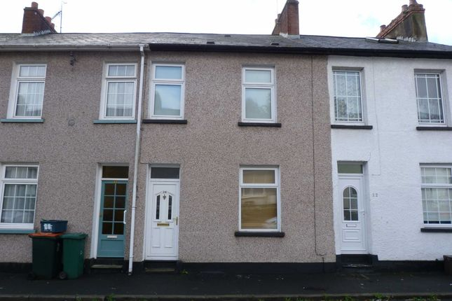 Thumbnail Terraced house for sale in Crescent Road, Newport